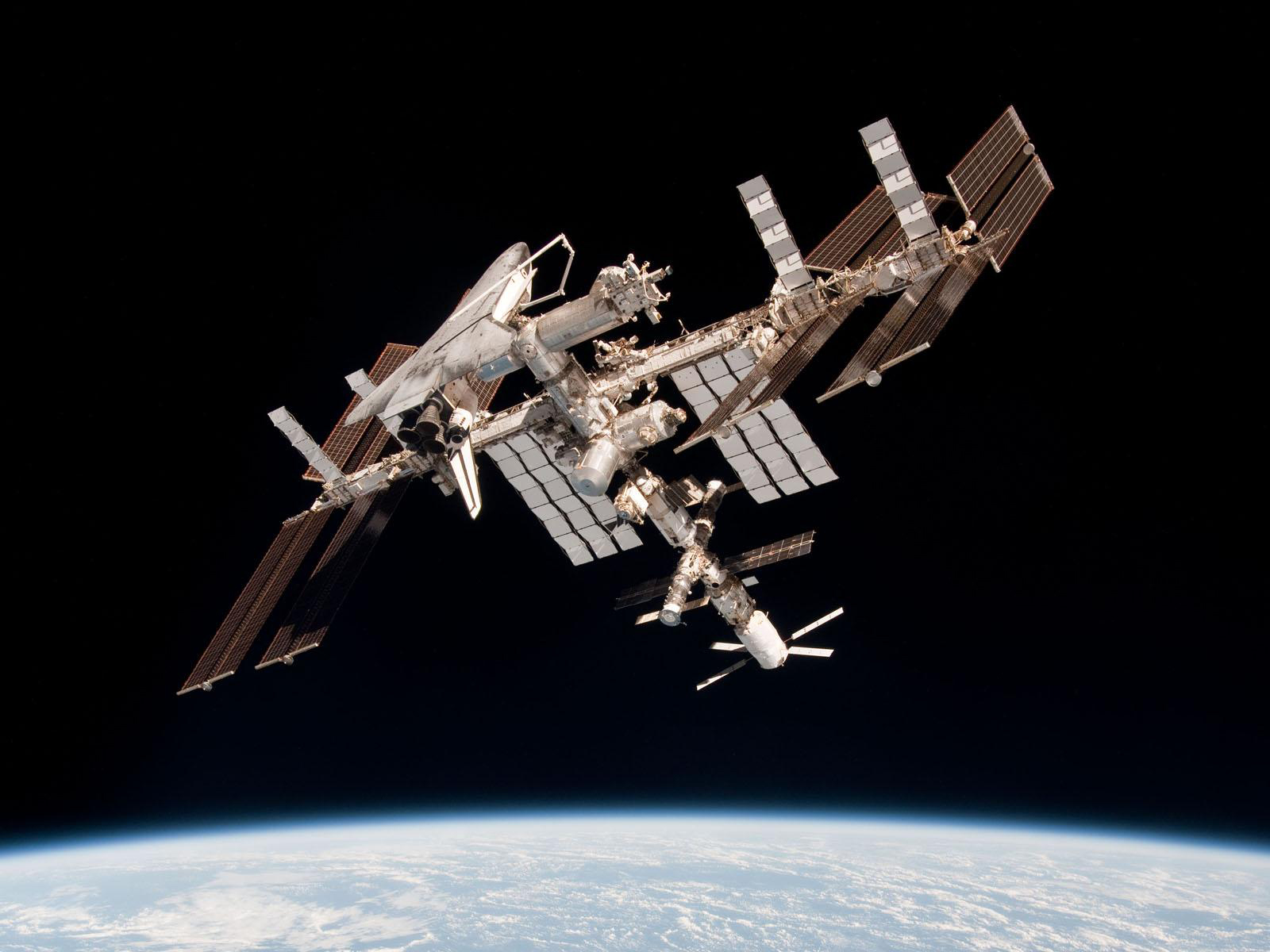 international space station from earth to current transportation - photo #10
